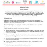 thumbnail of Behaviour Policy February 2015