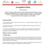 thumbnail of Complaints Policy 2015