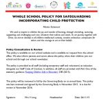 thumbnail of Safeguarding Policy  2015 – 2016