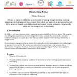 thumbnail of Handwriting Policy SPRING 2015